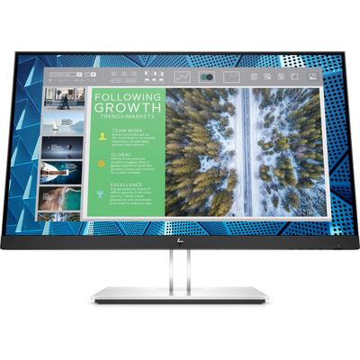 HP E-Series E24Q G4 Monitor - Zwart,Zilver