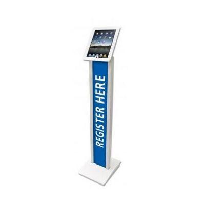 Maclocks multimedia kar & stand: Brandable VESA Mount Security Floor Stand, Tiltable display Floor Stand, White - .....