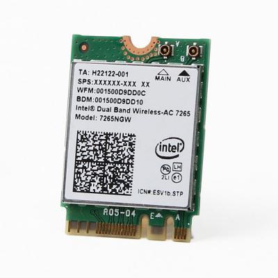Intel netwerkkaart: AC 7265 - Groen