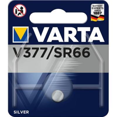 Varta batterij: -V377 - Zilver