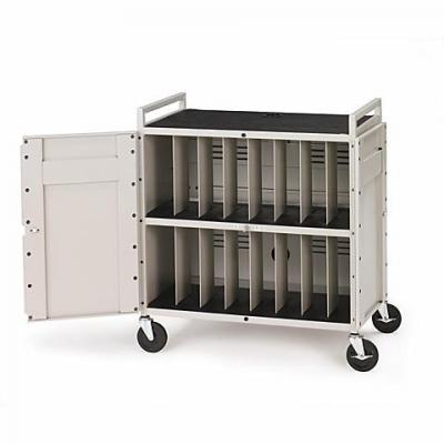 Lenovo notebooksteun: Bretford Notebook Storage Cart LAPTG154EEU/E-GM - Denmark - Wit