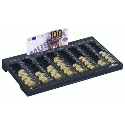 Durable geldkist: €uroboard L - Zwart