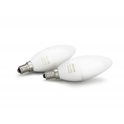 Philips personal wireless lighting: hue Dualpack E14 8718696695265 - Wit