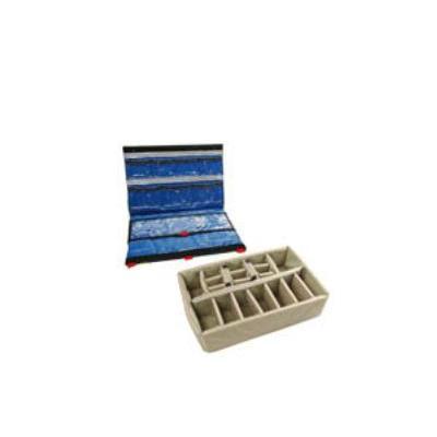 Peli Divider Set, Grey, f / 1500 Case accessoire - Grijs