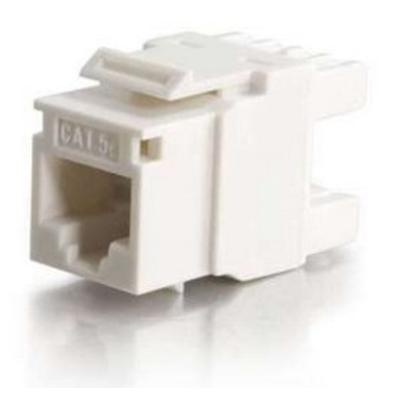 C2G Cat5E RJ45 UTP Keystone Jack - Wit