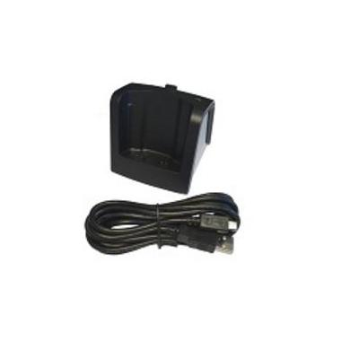 Alcatel-lucent dect basisstation: Desktop charger, 8262 Dect handset - Zwart