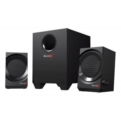 Creative labs luidspreker set: Sound BlasterX Kratos S3 2.1 - Zwart