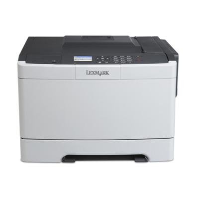 Lexmark CS410n Laserprinter - Zwart, Cyaan, Magenta, Geel