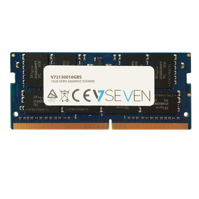 V7 16GB DDR4 PC4-21300 - 2666MHZ 1.2V SO DIMM Notebook Memory Module - 2130016GBS RAM-geheugen