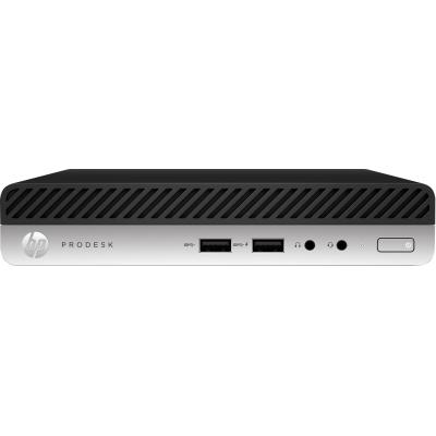 HP ProDesk 400 G4 pc - Zwart, Zilver
