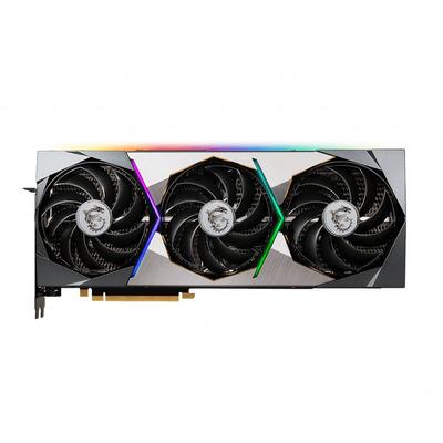 MSI GeForce RTX 3070 SUPRIM 8G Videokaart - Zwart,Roestvrijstaal