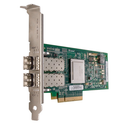 Dell interfaceadapter: QLogic 2562 - Groen,Roestvrijstaal