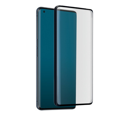 SBS 4D Full Glass for Oppo Find X3 Pro, Antiscratch, Curved edges, Glass/Silicone Screen protector - .....