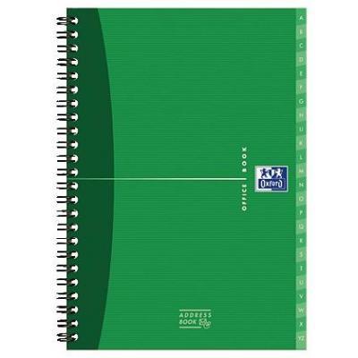 Elba schrijfblok: OXFORD Office Essentials adresboek A5 (verpakking 5 stuks)