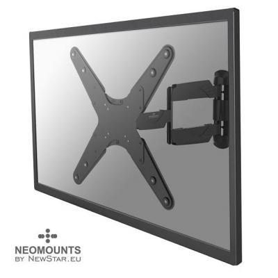 """Newstar montagehaak: De NM-W440BLACK is een wandsteun met 3 draaipunten voor flat screens t/m 52"""" (130 cm) - Zwart"""