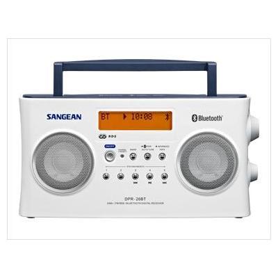 Sangean radio: DPR-26BT - Wit