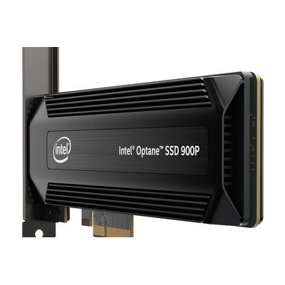 Intel SSD: Intel® Optane™ SSD 900P Series (480GB, 1/2 Height PCIe x4, 20nm, 3D Xpoint)