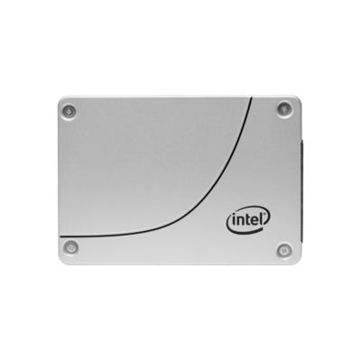 "Intel 3840GB, 2.5"", Serial ATA III, 3D2 TLC SSD - Zilver"