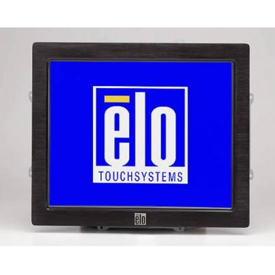 Elo touchsystems accesoire: Front-Mount Bezel Kit for 1537L - Zwart, Roestvrijstaal