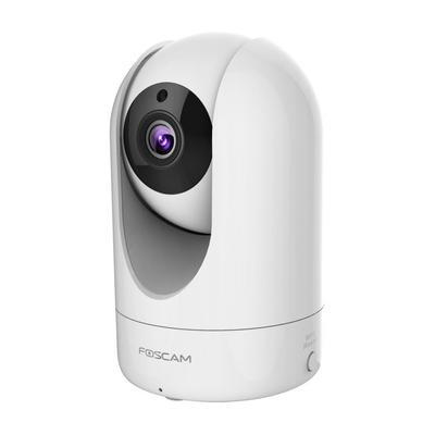 "Foscam 1/3"" CMOS, 2 Mpix, 1920 x 1080, 30fps, 0 Lux, RJ45, IEEE 802.11b/g/n ,H.264 Beveiligingscamera - Wit"