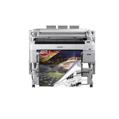 Epson SureColor SC-T5200 MFP met harde schijf Grootformaat printer - Pigment photo black,Matzwart Pigment,Cyaan .....
