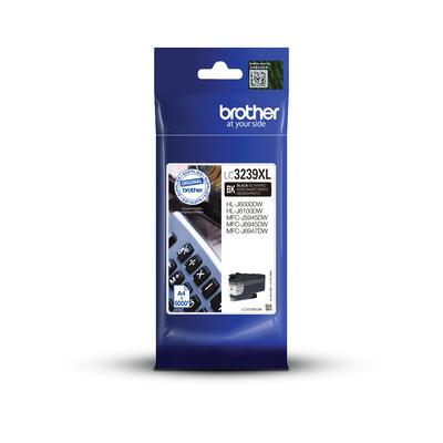 Brother Origineel inktpatroon LC3239XLBK - zwart - hoog rendement Inktcartridge