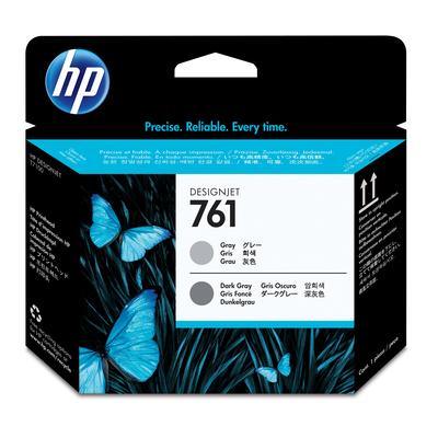 HP 761 Printkop - Donkergrijs, Grijs