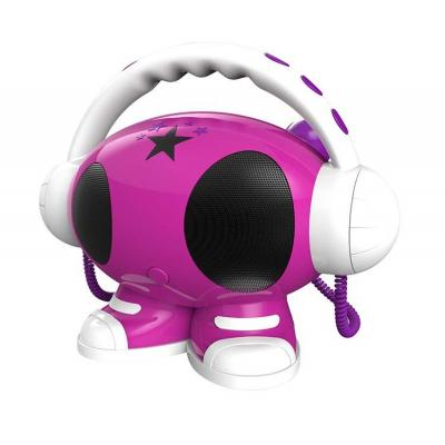 Bigben interactive karaoke systeem: Emma - Zwart, Roze, Wit