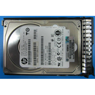 Hp interne harde schijf: 450GB hot-plug dual-port SAS HDD (Refurbished ZG)