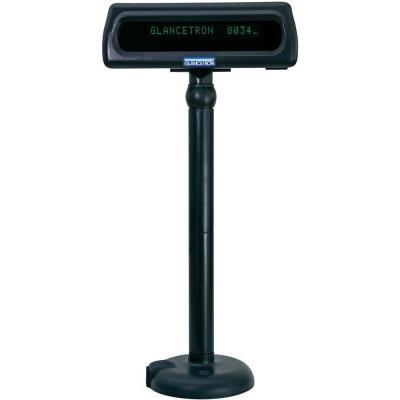 Glancetron DISP8034US Paal display - Zwart