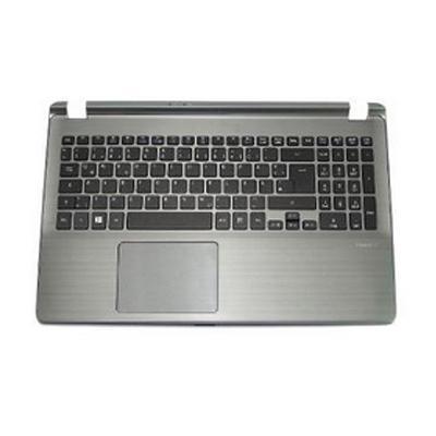 Acer notebook reserve-onderdeel: UPPER CASE W/TP KB(UI) NBL GRAY - Grijs