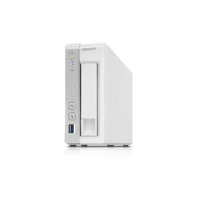 Qnap NAS: ARM Cortex-A9, 1.2GHz dual-core, 512MB DRAM, 512MB eMMC, LAN, USB 3.0 x 3, eSATA - Wit