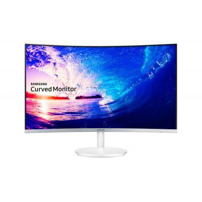 Samsung monitor: FHD Curved Monitor 27 inch  (5-serie) C27F581FDU - Zilver