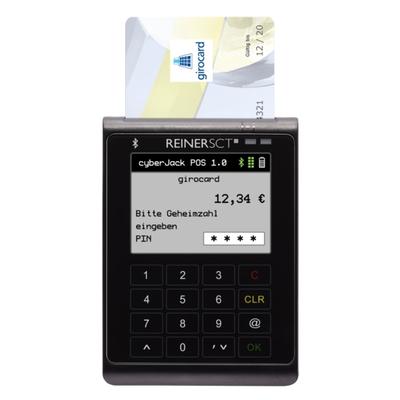 Reiner SCT cyberJack POS Smart kaart lezer - Zwart,Geel