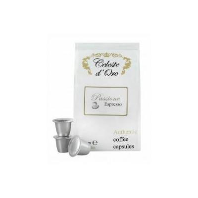 Celeste d'oro koffie: Passione (Espresso) voor Nespresso® machine 200 capsules