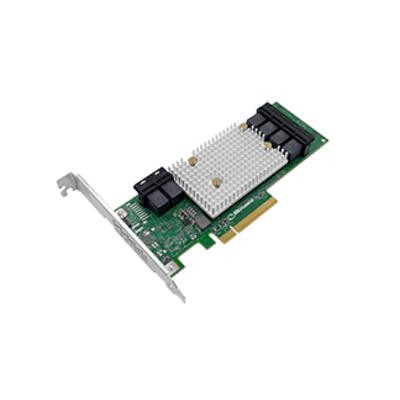 Adaptec interfaceadapter: SmartHBA 2100-24i - Goud, Groen, Zilver