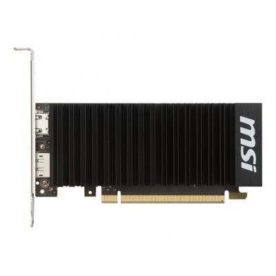 MSI NVIDIA GeForce GT 1030, GP 108-300, 1518 MHz / 1265 MHz, 6008 MHz, 2GB GDDR5, 64-bit, 153 x 69 x 38 mm, 302 g .....