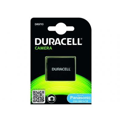 Duracell batterij: Camera Battery - replaces Panasonic CGA-S007 Battery - Zwart