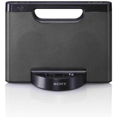 Sony MP3 speaker: RDP-M5iP Compact luidsprekerstation voor iPod/iPhone - Zwart