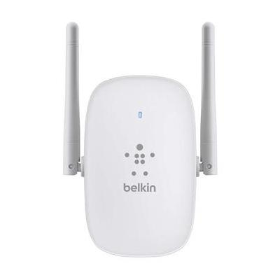 Belkin netwerk verlenger: N300 Dual-Band Wi-Fi Range Extender - Grijs, Wit