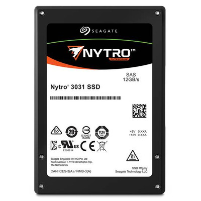 """Seagate Nytro 3731 400GB 3D eTLC 2,5"""" SAS SSD"""