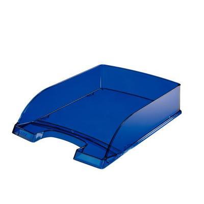 Leitz brievenbak: Brievenbak, Transparant Blauw - Blauw, Transparant