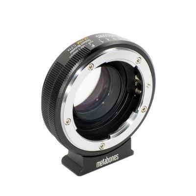 Metabones Nikon G to Micro Four Thirds Speed Booster ULTRA 0.71x Lens adapter - Zwart
