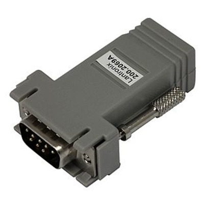 Lantronix DB9M to RJ45 Adapter for System Console Switch to HP9000,SGI Origin, Onyx2 Kabel adapter - Grijs