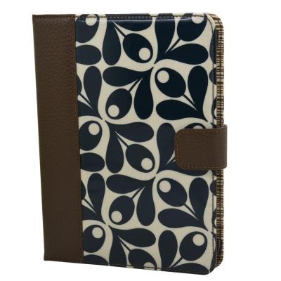 Trexta e-book reader case: Orla Kiely Book Case for Kindle Fire, Acorn Cup - Multi kleuren