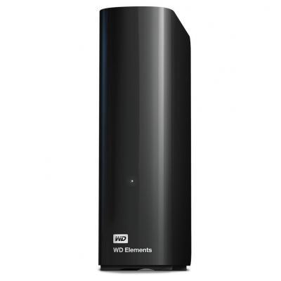Western digital externe harde schijf: Elements Desktop - Zwart