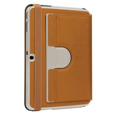 Targus tablet case: Versavu Slim2 Samsung Tab 10.1 inch (Brown) - Lichtbruin