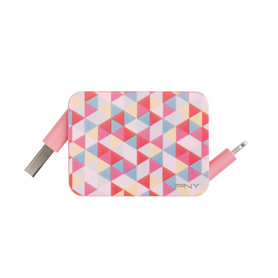 PNY Roll-it Lightning to USB Charge - Roze