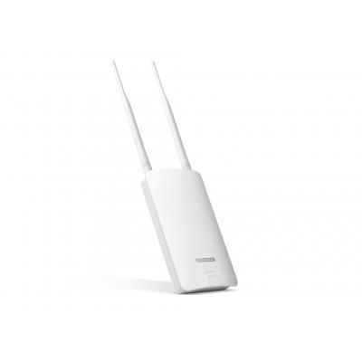 Sitecom netwerk verlenger: WLX-2100 N300 Wi-Fi Outdoor Range Extender - Wit
