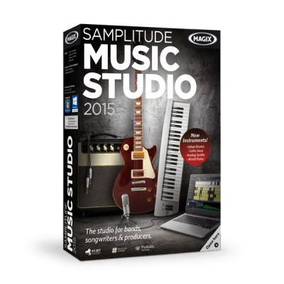 Magix audio software: Music Studio 2015